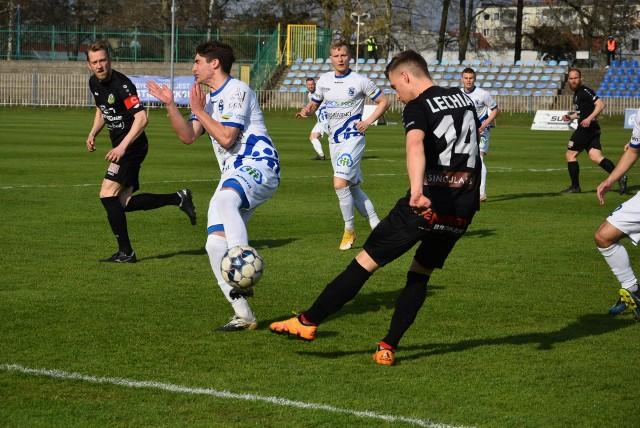 Lechia Zielona Góra pokonała Stilon Gorzów (2:0) w ćwierćfinale lubuskiego Pucharu Polski.