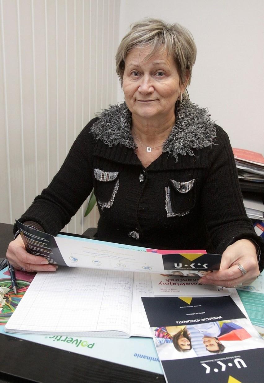 Zdzisława Wilk radzi złożenie reklamacji w sklepie