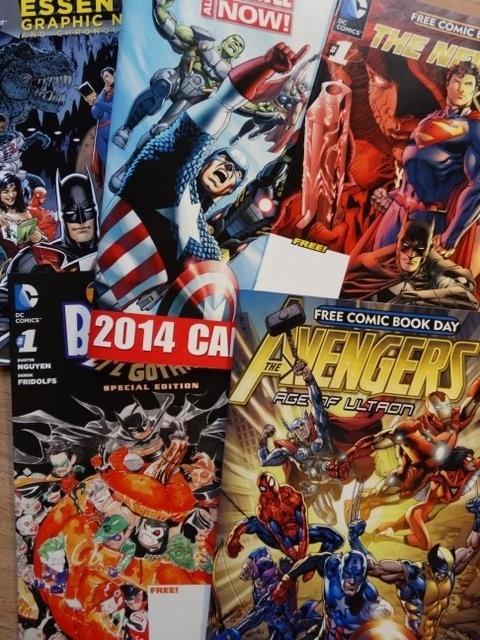 Amerykańskie komiksy będą jedną z atrakcji tegorocznego Free Comic Book Day