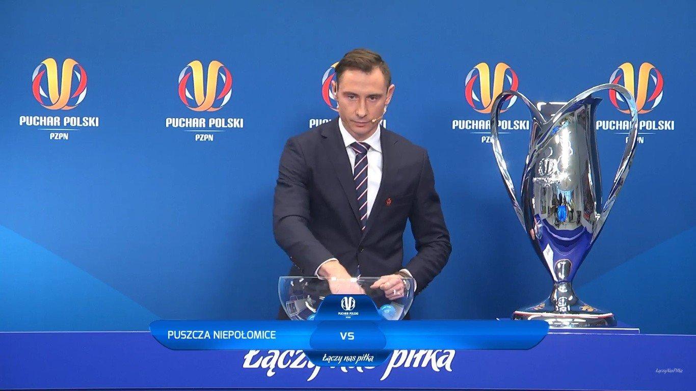 6d476d678 Puchar Polski. Wpadka podczas losowania par 1/8 finału Pucharu ...