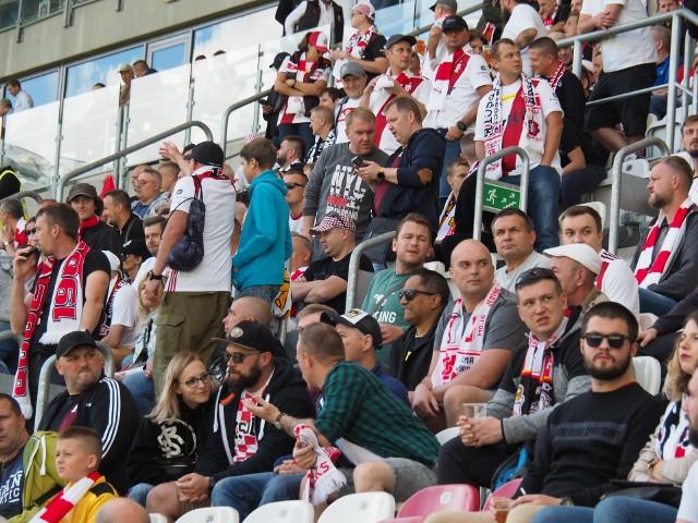 Poirytowani kibice ŁKS Łódź oglądali klęskę z Resovią 0:3