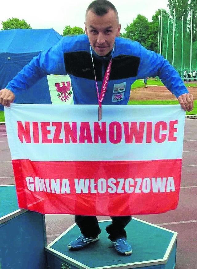 Michał Szafrański zdobył dwa brązowe medale.