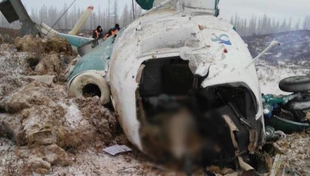 Katastrofa śmigłowca Mi-8 na półwyspie Jamał