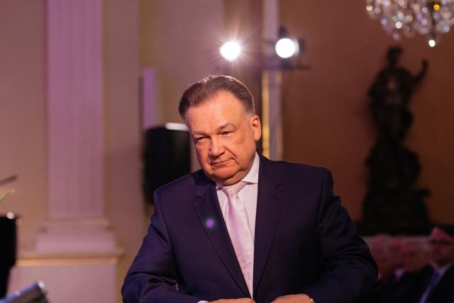 Adam Struzik, marszałek województwa mazowieckiego. Jego rolę w rozwoju tego województwa podkreślają  białostoccy radni w projekcie stanowiska
