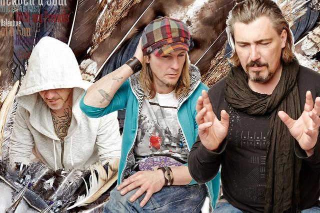 Chociaż Piotr Rybicki (pierwszy z lewej), Wojciech Czarnowski oraz Bartosz Muszyński debiutują jako Ryba And The Witches, mają już spore doświadczenie muzyczne