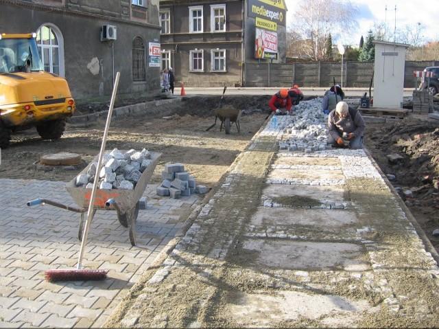 Prace przy ulicach Polnej i Moniuszki dobiegają końca