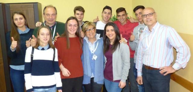 Reprezentacja Istituto d'Istruzione Superiore Fazzini-Mercantini z Grottammare w Italii przyjechała do Kazimierzy Wielkiej w świetnych nastrojach. Najważniejsze, że... nie ma zimy! - przyznali zgodnie.