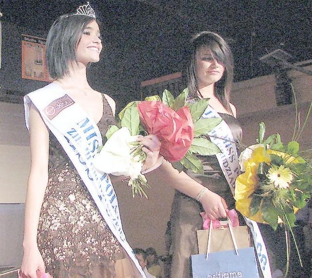 Siostry wśród najpiękniejszych: Miss Polski Ziemi Grudziądzkiej 2008 Katarzyna Burczyńska (z lewej), obok I wicemiss, Alicja Burczyńska. Z prawej Oliwia Jagodzka, która wygrała w kategorii nastolatek.