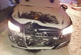 Wypadek na S7 w Skarżysku-Kamiennej. Kobieta w szpitalu