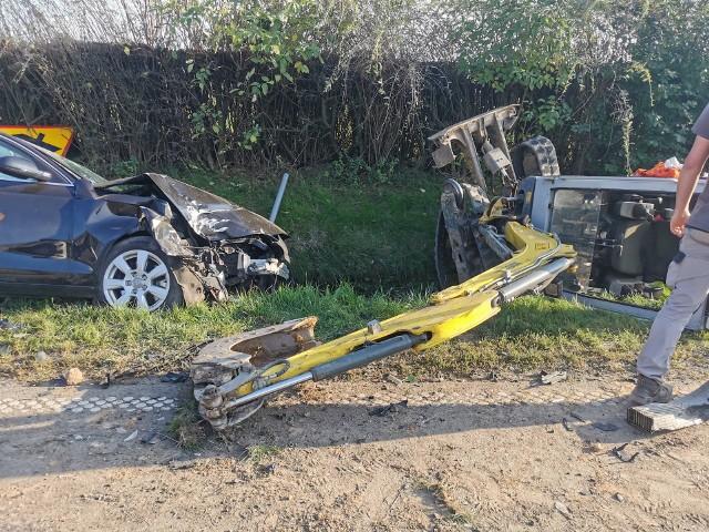 Wypadek w Brzeziu (gmina Brześć Kujawski)