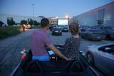 Pierwszy seans w kinie samochodowym w Lublinie. Zobacz zdjęcia