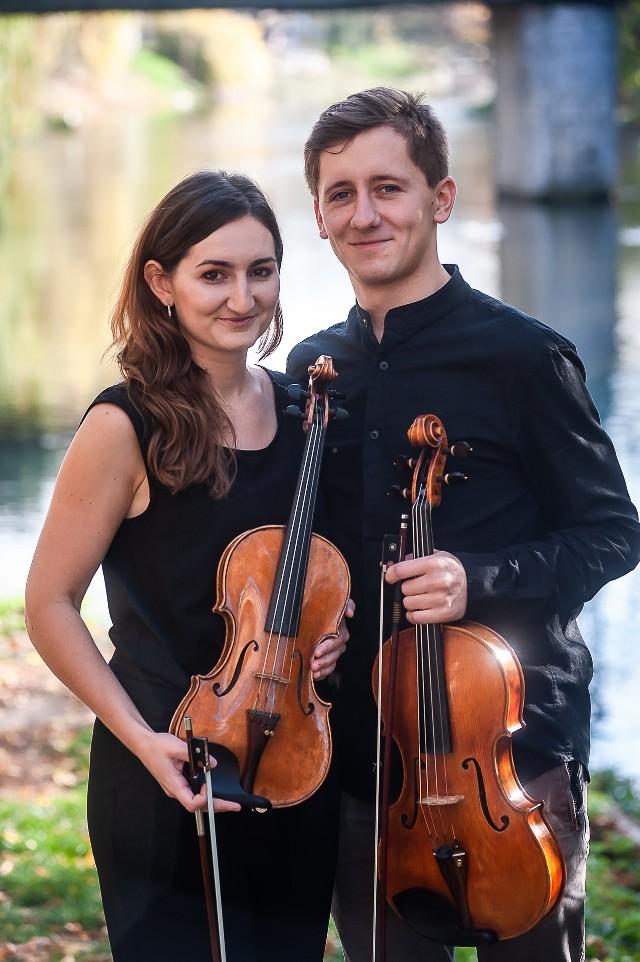 Już w najbliższy piątek w filharmonii będzie okazja do posłuchania Symfonii koncertującej Mozarta, w której jako solistka wraz z mężem wystąpi skrzypaczka opolskiej orkiestry