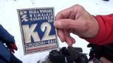 Ponad stu piechurów i kilku… rowerzystów, zdobyło zimą szczyt Łysicy - nasz Everest