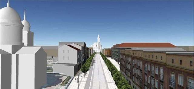 Tak ma wyglądać ulica Lipowa w 2012 roku