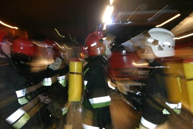 Nocny pożar w Gdańsku Stogach. 1 osoba poszkodowana