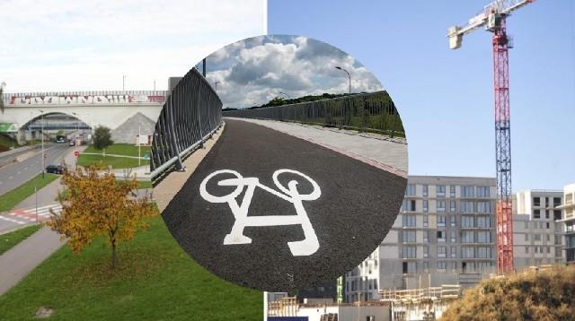 Miasto planuje budowę kładki pieszo-rowerowej łączącej osiedle Wizjonerów z ul. Armii Krajowej