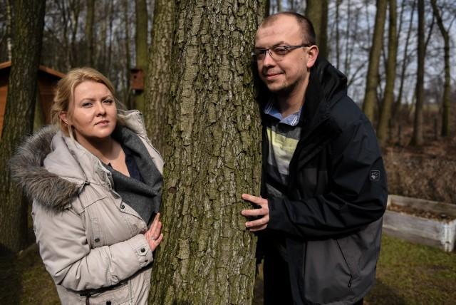 Karolina Wasilewska: Mój mąż czuwa przy mnie codziennie i dzielnie znosi trudy życia z chorą osobą