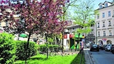 U zbiegu Słowiańskiej, Pędzichów i Długiej można zagospodarować zieleń i ustawić historyczną tablicę FOT. ANDRZEJ WIŚNIEWSKI