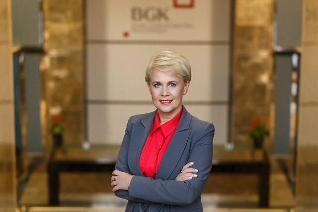 Beata Daszyńska-Muzyczka, prezes Banku Gospodarstwa Krajowego