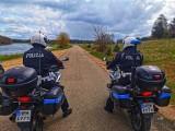Łomża. W policji miłośnicy motocykli łączą służbę z pasją