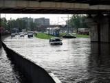 Oto miejsca we Wrocławiu notorycznie zalewane przez deszcz
