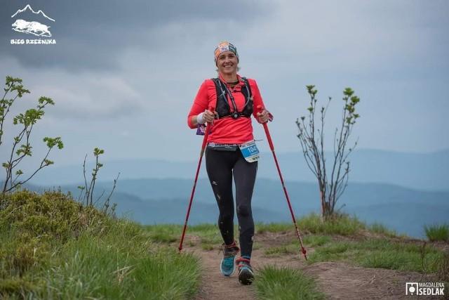 Agnieszka Wiśniewska z Białobrzegów przebiegła prawie 108 kilometrów podczas VII Festiwalu Biegu Rzeźnika w Bieszczadach.