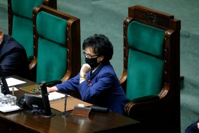 Marszałek Sejmu Elżbieta Witek pyta Trybunał Konstytucyjny o termin wyborów
