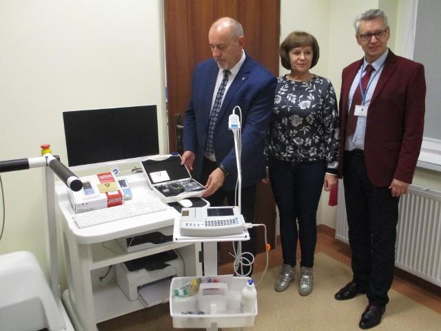 Nowoczesne pompy infuzyjne, aparaty EKG i holtery trafiły do szpitala MSWiA w Opolu