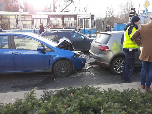 Wypadek przy Moście Grunwaldzkim