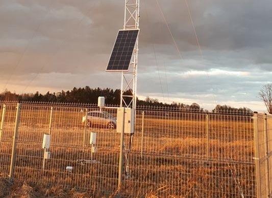 Stacja meteorologiczna w Bandysiach