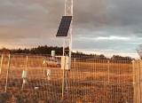 Stacja meteorologiczna w Bandysiach. Pomoże w monitorowaniu suszy rolniczej