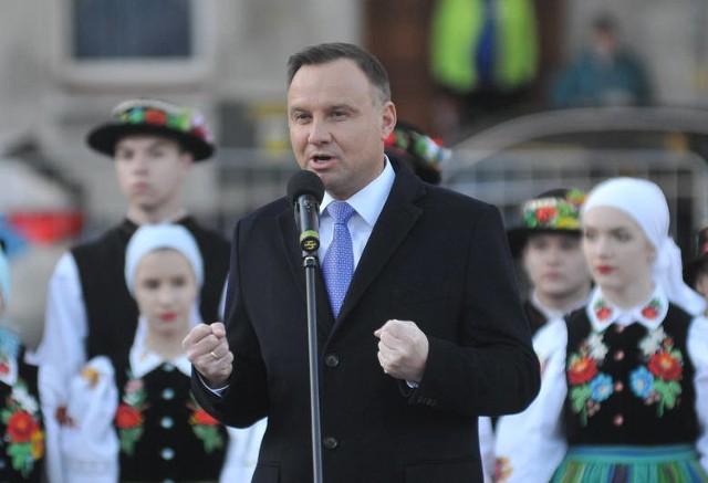 Prezydent Andrzej Duda w Gorzowie