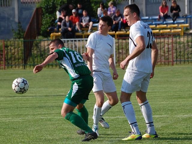 Damian Wolański i Tomasz Płonka (na biało) mieli wyjątkowo nieskuteczny dzień.
