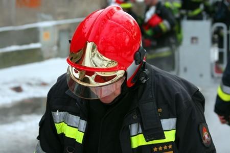 Ofiarą pożaru najprawdopodobniej była osoba bezdomna.