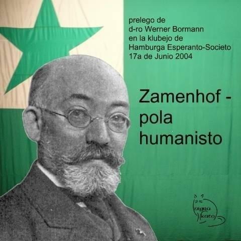 Ludwik Zamenhof, białostoczanin, twórca międzynarodwoego języka Esperanto, którego symbolem jest zielona gwiazdka.