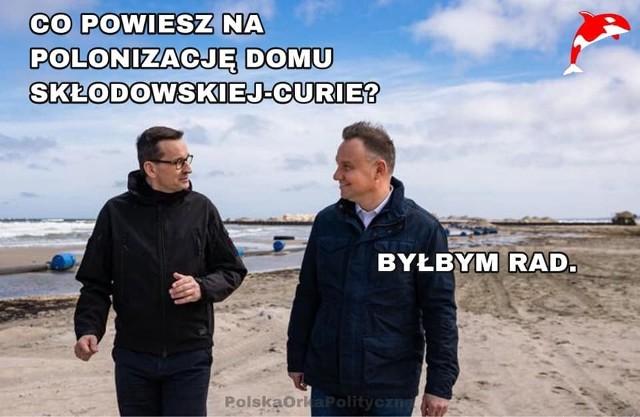 Dom Marii Skłodowskiej-Curie zostanie kupiony przez polski rząd? Internauci komentują w memach