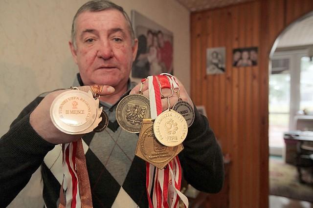 Marek Dziuba, medalista mistrzostw świata, były piłkarz ŁKS i Widzewa