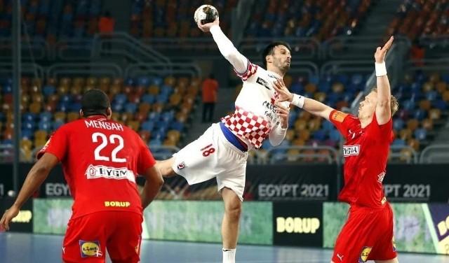 Igor Karacić w meczu z Danią zdobył 5 bramek, ale Chorwacja odpadła z mistrzostw świata.