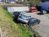 Kraksa na drodze Szczecin - Lubieszyn. Uszkodzonych pięć aut