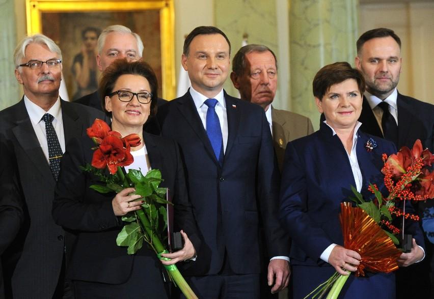 Zaprzysiężenie rządu Beaty Szydło