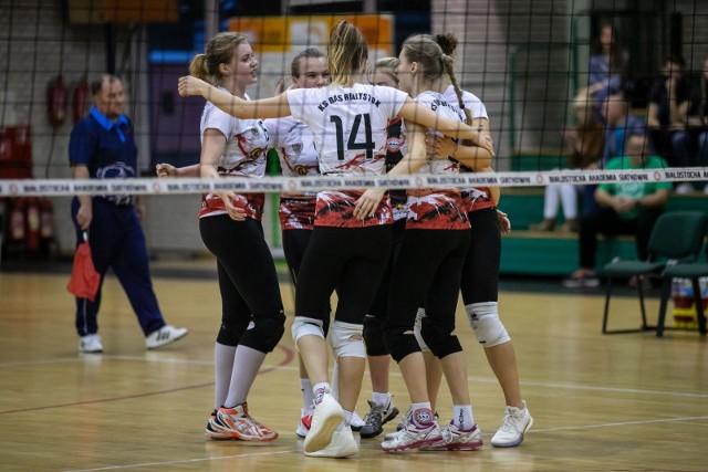 Siatkarki BAS Kombinat Budowlany Białystok w tym sezonie dotychczas przegrały trzy razy.