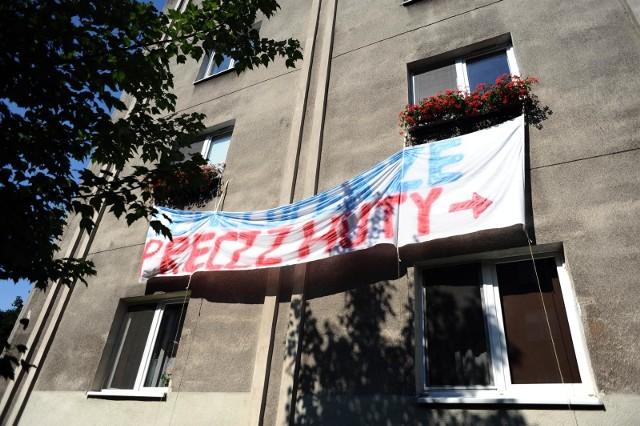 05.07.2018 krakowosiedle teatralne zabudowa budowa apartamentowca blok protest mieszkancow fot.wojciech matusik / polska press
