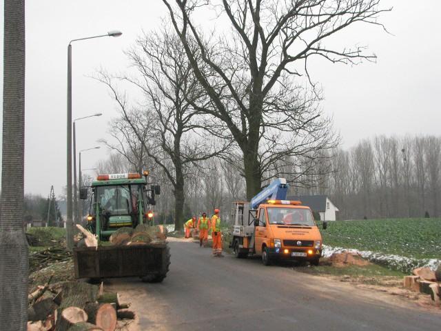Remont dawnej trasy wojewódzkiej w Mroczy, a obecnie gminnej, rozpoczęto od prac drogowych na ul. Bydgoskiej