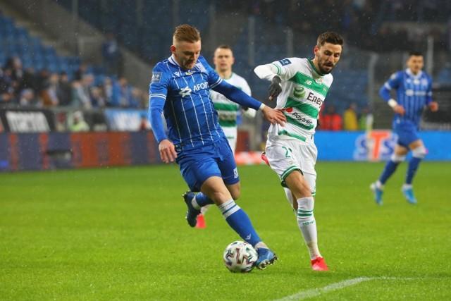 W ostatnim meczu Lech Poznań - Lechia Gdańsk (2:0) goście nie mieli wiele dopowiedzenia