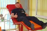 Radomski funkcjonariusz wraz z innymi kolegami oddali krew w Kosowie. Pomogli pacjentom w Mitrowicy