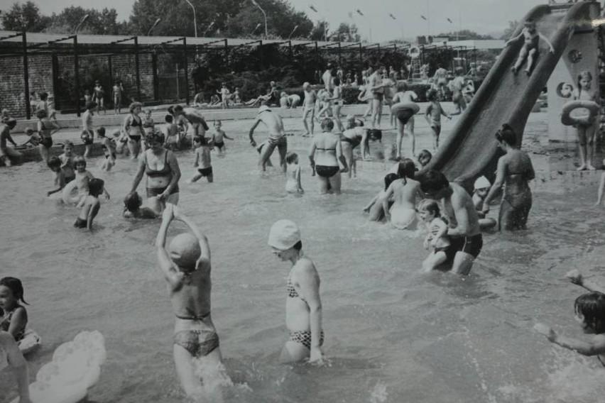 Kąpielisko Fala na archiwalnych zdjęciach...