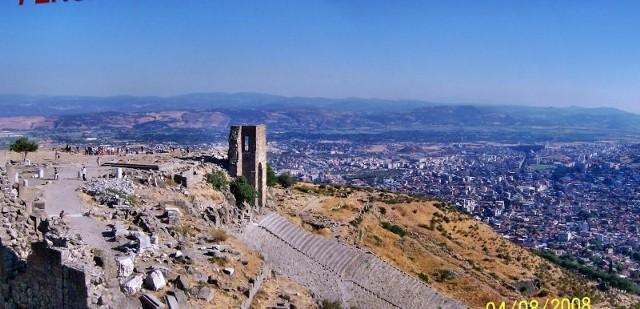 Skarby TurcjiWidok miasta z akropolu.