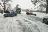 Wypadek w Myszyńcu, na DK 53. 8.02.2021. Zdjęcia