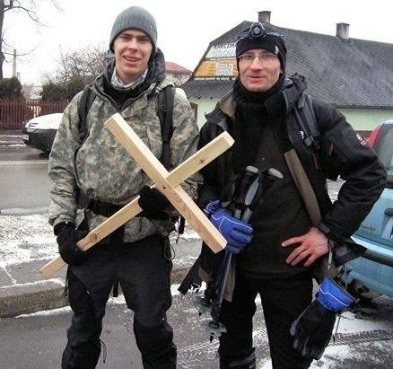 Ekstremalna droga krzyżowa, Daniel Czyżak i brat Mirek Myszka