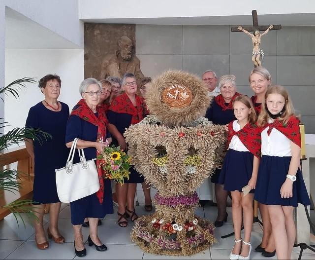 Dożynki parafialne na Górnym Przedmieściu